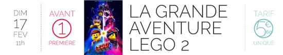 AP LA GRANDE AVENTURE LEGO 2