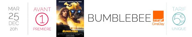 AVANT-PREMIERE : BUMBLEBEE