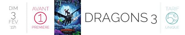 AVANT-PREMIERE : DRAGONS 3