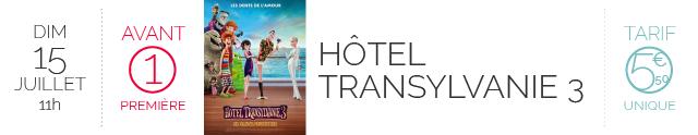 AVANT-PREMIERE : HOTEL TRANSYLVANIE 3