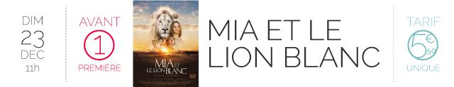 AVANT-PREMIERE : MIA ET LE LION