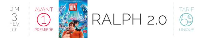 AVANT-PREMIERE : RALPH 2.0