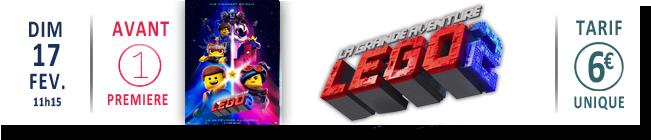 AVANT-PREMIERE : LA GRANDE AVENTURE LEGO 2