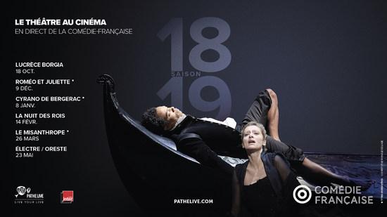 COMÉDIE FRANCAISE SAISON 2018-2019